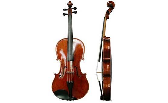 ヴィオラの楽器本体画像